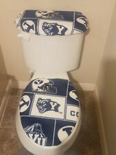 BYU Fleece Toilet Seat Cover Set Bathroom Accessories