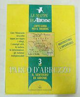 Lotto 12 pezzi Mappa e Guida Parco Nazionale D'Abruzzo - offerta per rivenditori