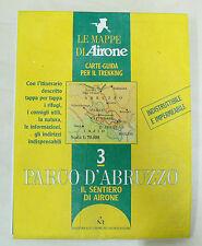 Mappa e Guida Parco Nazionale D'Abruzzo indistruttibile e impermeabile offerta !