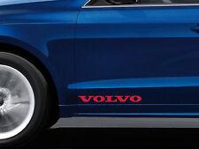 2 x Aufkleber für Tür passt Volvo S40 S60 S80 XC90 V40 V50 V70 C70 Emblem Logo R