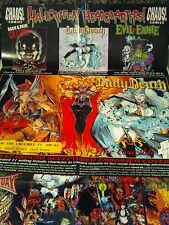 "CHAOS EVIL ERNIE/ LADY DEATH Promo Poster 1996 unused  35 3/4"" x 22 3/4"""