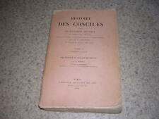 1938.histoire des conciles / Hefele.T10.1/2.concile de Trente / Michel