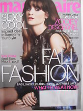 ZOOEY DESCHANEL September 2013 MARIE CLAIRE Magazine