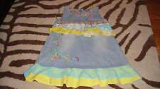 BOUTIQUE BEETLEJUICE 3T DENIM FLORAL DRESS DARLING