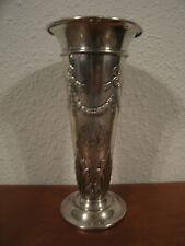 Antique American Black Starr & Frost Sterling Silver Trophy Vase