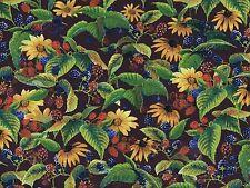 Floral et framboises quilting Tissu coton-Trimestre Fat-Wild ailes