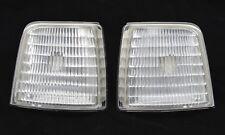 CORNER PARK SIGNAL LIGHT LENSES SET CLEAR L&R FOR 92-96 FORD F150 250 350 BRONCO