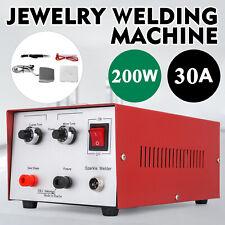 30A 200W Machine soudure bijoux soudeuse 220V aiguille tungstène or argent