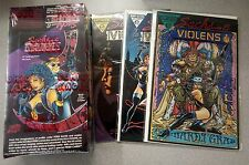 1993 Sachs & Violens Comic Book Art Cards Unopened Pack Box PLUS 3 Comics