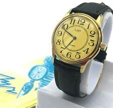 Retro Vintage Reloj Luch Nuevo Dorado Estuche Informal Hombre Mecánico Original