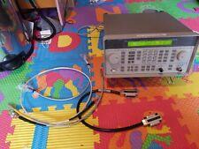 HP/Agilent/Keysight 8648C Synthesized RF Signal Generator 100kHz-3200MHz +extras
