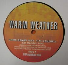 "Chris Flequillo Feat. Rita Campbell (12"" Vinilo) clima cálido (Ibiza Beachball Remix) - UK"