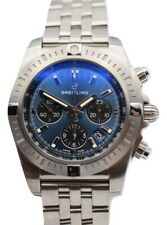 Breitling Chronomat 44 Gray Dial Men's Watch AB0115101F1A1