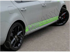SKODA VRS OCTAVIA RACING STRIPES SIDE GRAPHIC DECAL STICKERS RS204