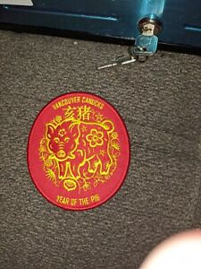 Vancouver Canucks Year of the Pig Patch (Iron-On)