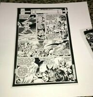 Uncanny X-Men Wolverine Kazar Savage Land John Byrne Production Art Acetate rare