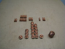 Lot of 35 Hypertherm Plasma Cutter Tips / Nozzles / Electrodes Used Free Shippin