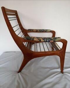 Mid century lounge chair danish, finish, oak