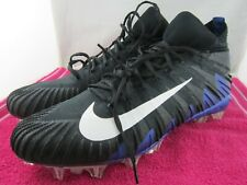 NIKE ALPHA MENACE BLACK AND BLUE COLOR SIZE 16 US , 15 UK SPORT SHOES ( # 106 )