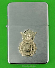 AIR FORCE SECURITY POLICE WIND PROOF LIGHTER IN A GIFT BOX  USAF bc109
