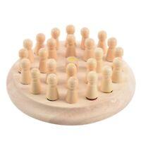 1 set di memoria di legno partita bastone scacchi gioco bambini precoce di  C3U6