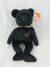 Ty Beanie Babies The End Bear 1999 2000 Near Mint Canada Errors