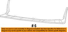 Dodge CHRYSLER OEM Challenger Front Bumper-Spoiler Lip Chin Splitter 68258747AC