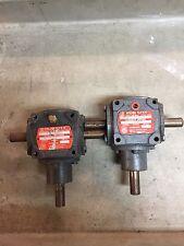 HUB CITY Model M3 1:1 RATIO BEVEL GEAR DRIVE 0220-21101 Miter Gearbox
