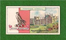 TREGOTHNAN HOUSE Viscount Falmouth  Coat of Arms Family Crest 1909 vintage card