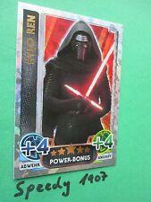 Topps Star Wars Das Erwachen der Macht Force Attax Kylo Ren Power Bonus 217