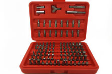 100PCS Screwdriver Security Bit Set Wing Nut Driver Magnetic Holder sleeve Tools