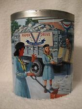 2004 Ashdon Farms Girl Scouts Wedge Tin 1940's Girl Scout Promise #1 Paper Drive