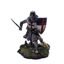 Tin Soldier, top, knight, Crusader of Order of Solomon's Temple, 54 mm