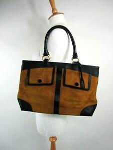 Jaeger Tan Suede Handbag