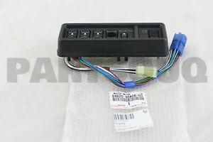 8482090A0803 Genuine Toyota MASTER SWITCH ASSY, POWER WINDOW REGULATOR