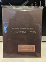 Loudon Wainwright III - Surviving Twin Programme / Show CD /Autographed postcard