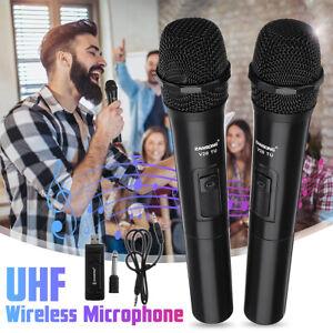 UHF Handheld Wireless bluetooth Microphone KTV Karaoke MIC Speaker USB  ,
