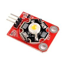 10 PCS KEYES 3W LED Module High-Power with PCB Chassis for Arduino STM32 AVR