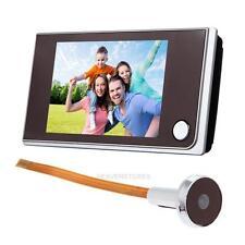 """3.5"""" Digital Peephole 120° Viewer Door Eye Doorbell Touch Screen Color IR Camera"""