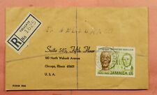 DR WHO 1966 JAMAICA TOLLGATE REGISTERED TO USA  163717