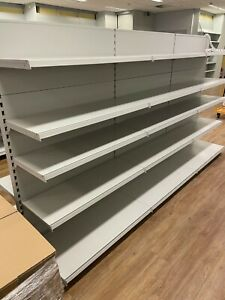 Tegometall Gondelregal Shop Shelf Sale Shelf FACHBODENREGAL1m Mittelraumregal