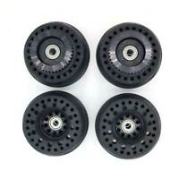 Super RS 105mm  Airless Rubber Wheels With Two Pulley For Skateboard