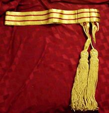 UK British Britain Army BEF General Staff Officer Parade Uniform Ceremony Sash