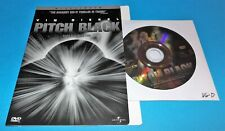 Pitch Black (Very Good Dvd Disc & Cover Art Only, No Case) + Free Shipping