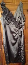 NEW DONNA RICCO STUNNING TAUPE EVENING/COCKTAIL/PARTY DRESS SIZE12 NEW WITH TAG