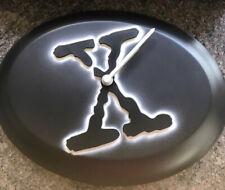 NEW THE X FILES ILLUMINATING WALL CLOCK