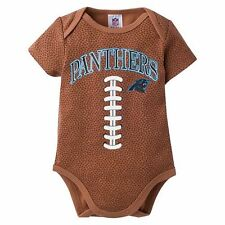 Carolina Panthers NFL Baby Football Bodysuit, 3 - 6 Months, New With Tags