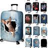 Reisekoffer Schutzhülle Schutzabdeckung Reisegepäck Staubschutz für 18-32 Inch