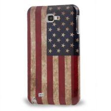 Schutzhülle f Samsung Galaxy Note i9220 Case Cover Tasche USA Amerika Flagge