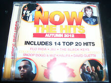 NOW The Hits Autumn 2012 Various CD Ed Sheeran 360 Coldplay The Black Keys & Mor